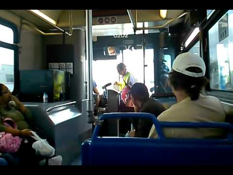 On Board Broward County Transit Route 28 Westbound