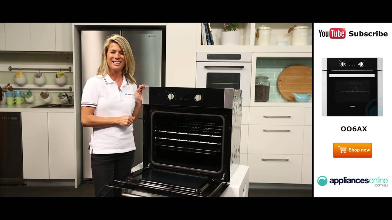 Elegant 60cm Omega Electric Wall Oven OO6AX reviewed by expert ...