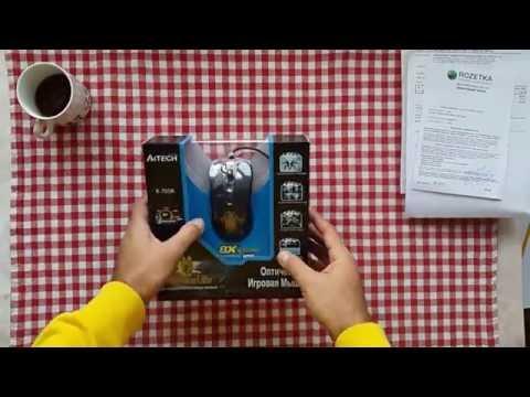 Мышь A4Tech X-705K USB Black (4711421758017)