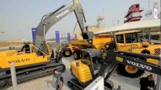 Volvo at Bauma China 2010