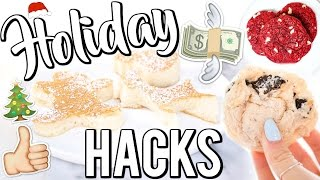 QUICK & EASY HOLIDAY HACKS