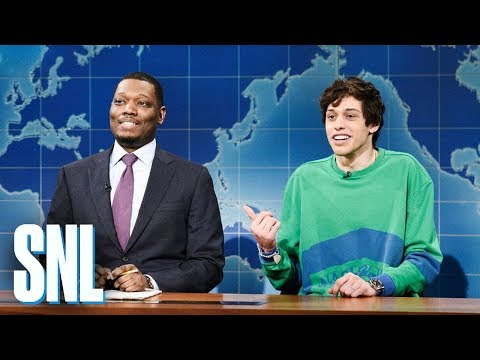 Weekend Update: Pete Davidson on Colin Jost, Michael Che - SNL