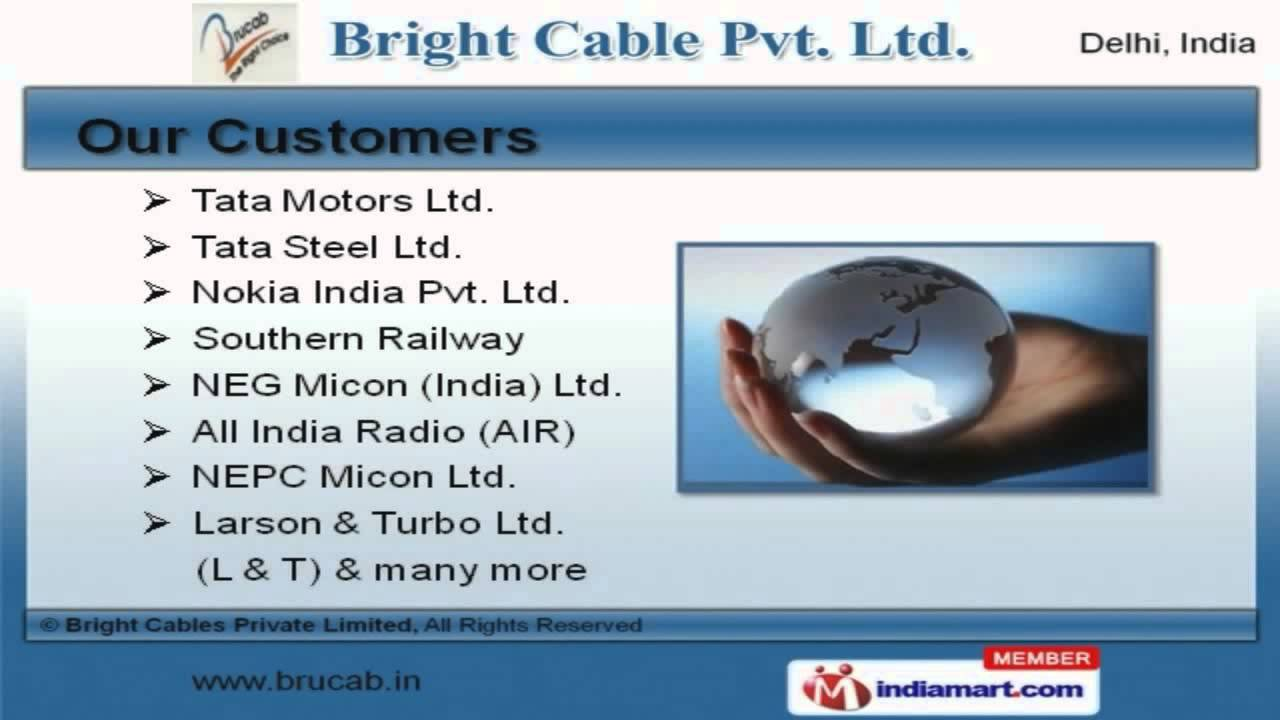 Electric Wires & Cables by Bright Cables Private Limited, New Delhi ...