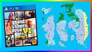 Grand Theft Auto 6 Map Info LEAKED By A Supposed Rockstar Games Employee..! (GTA 6 Project Americas)