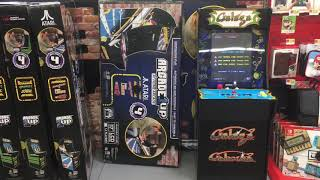 First! Exclusive Arcade1Up Galaga Gameplay