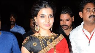 Actress Samantha Beautiful Entry at S/O Satyamurthy Movie Audio Launch Video