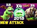 Golem + Baby Dragon: GOBABY NEW TH9 STRONG WAR ATTACK STRATEGY 2018   Clash of clans
