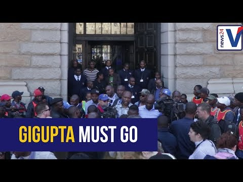 The DA protests against the capture of the National Treasury, hand over memorandum