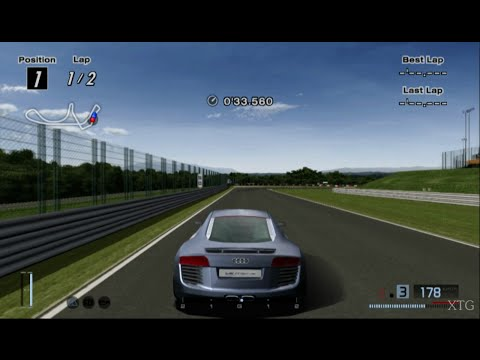 Gran Turismo 4 - Audi Le Mans quattro HD PS2 Gameplay