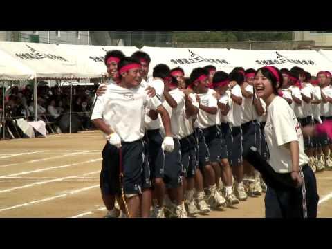 三島高校運動会 in 愛媛 - YouTu...