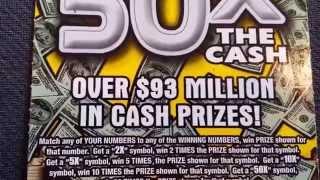 "50X THE CASH   ""2X"" SYMBOL WIN!"
