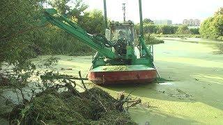 Стартовал второй этап расчистки реки Быковка