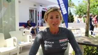 Sofie Goos IM 70.3 Mallorca interview (English)