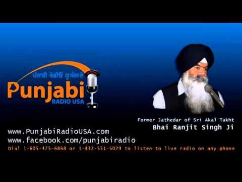 Jathedar Ranjit Singh on Amritsar Seat   Punjabi Radio USA   20 March 2014