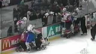 1994-95 Philadelphia Flyers vs. Montreal Canadiens Brawl