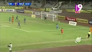 INDIA VS MALDIVES LIVE | FIRST HALF HIGHLIGHT | SAFF SUZUKI CUP 2018