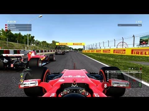 F1 2017 CHAMPIONSHIP MODE FERRARI (5 LAP RACE)