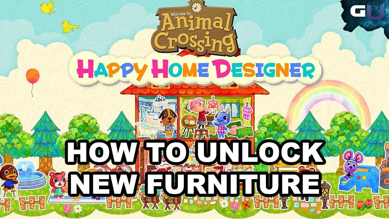 animal crossing happy home designer how to unlock new. Black Bedroom Furniture Sets. Home Design Ideas
