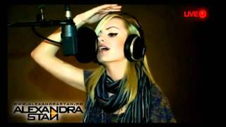 Alexandra Stan -  Rihanna - Take A Bow  Live Uncut Version