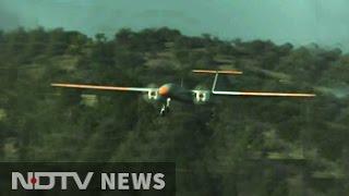 DRDO's Indigenous Drone Rustom-II Takes Maiden Flight