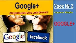 Социальная сеть Гугл Плюс Урок 2|Social network Google Plus.Lesson 2