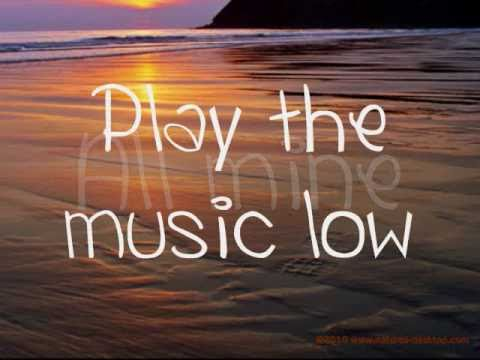 Rhythm of Love - Plain White T's - Lyrics on Screen