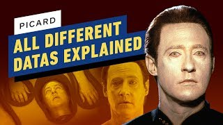 Picard: All The Different Datas Explained