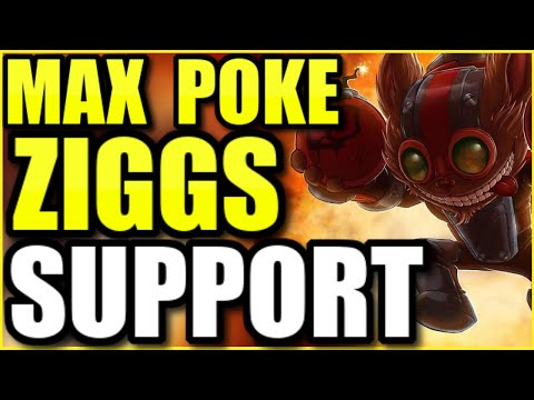 "THE *NEW* WAY TO PLAY ZIGGS!  THIS MAXIMUM POKE ZIGGS ""SUPPORT"" IS ABSOLUTELY SAVAGE!  (INSANE GAME)"