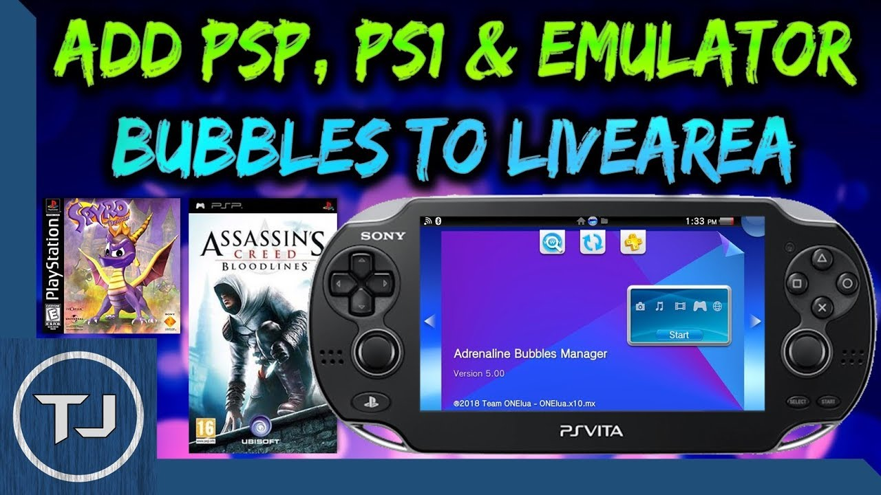 how to put ps1 emulator on ps vita