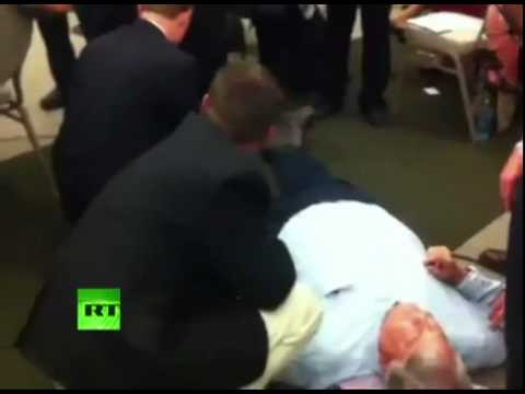 Ron Paul Delegate Assaulted by Louisiana Police ∞ Tyranny Martial Law Police State Revolution