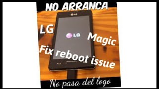 Lg no arranca (solucion)/fix problem reboot easly