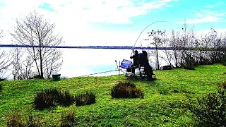 Новый фидерный сезон 2021 года Фидерная рыбалка на озере.