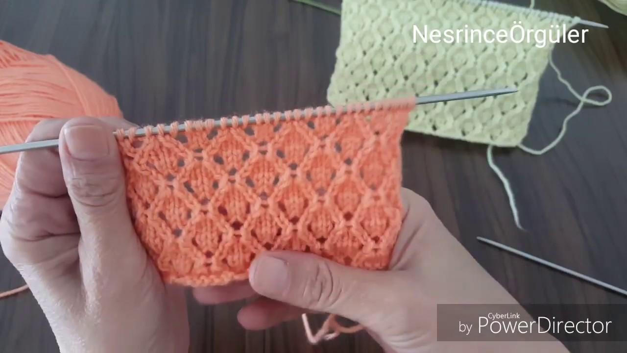 3D Kesişen Çizgiler Örgü Modeli Yapılışı