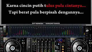 Caca Handika - Cincin Putih (Karaoke Dangdut Indonesia)