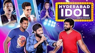 HYDERABAD IDOL || Indian Idol Spoof || Funny Reality Show || Kiraak Hyderabadiz