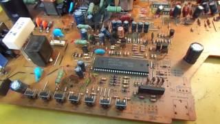Ремонт телевизора из 90-х. Nec FS-2181SKB. Understanding the Horizontal circuits. TV Reparaturen.