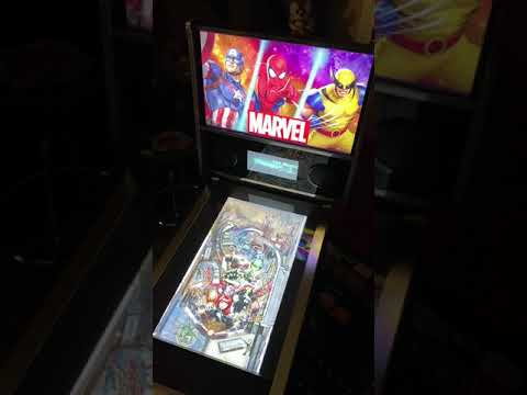 Arcade1up Marvel Pinball: Marvels Women of Power A-Force Table Gameplay 60FP from Kelsalls Arcade