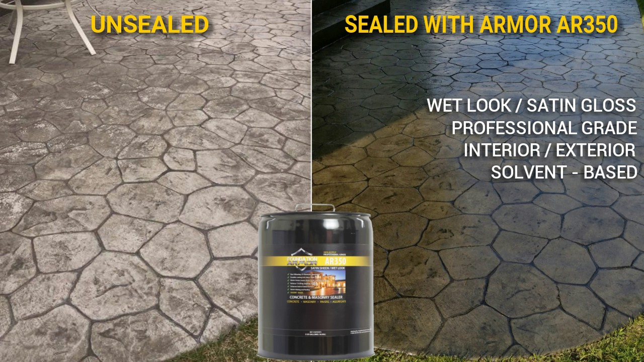 How To Apply The Armor Ar350 Solvent Based Acrylic Sealer