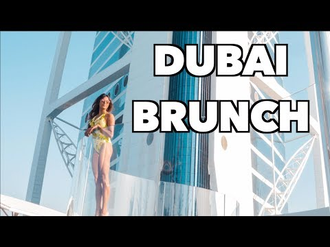 BRUNCH AT THE BURJ AL ARAB DUBAI