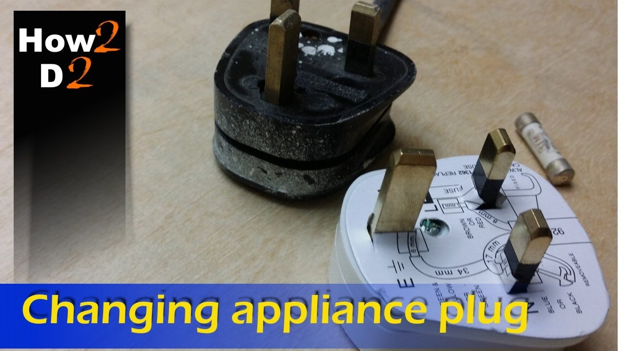how to change appliance electrical plug wiring uk  [ 1280 x 720 Pixel ]