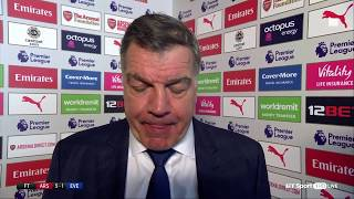 "Arsenal 5-1 Everton: Sam Allardyce slams Everton's performance! ""It was pathetic"""