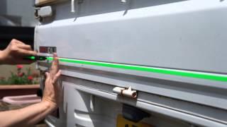 軽トラ ダイハツ ハイゼットにボディストライプを貼る Daihatsu Hijet