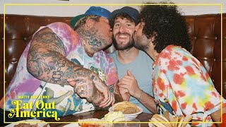 `Kosher Bro-down With Lil Dicky | Matty and Benny Eat Out America | EP 2