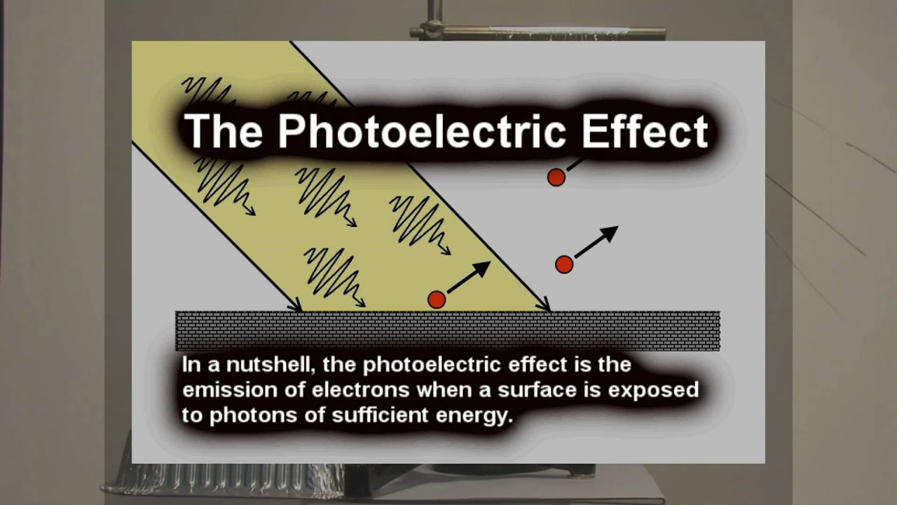 photoelectric effect lab report Experiment 6 - the photoelectric effect apparatus photodiode with amplifier  batteries to operate amplifier and provide reverse voltage digital voltmeter to.
