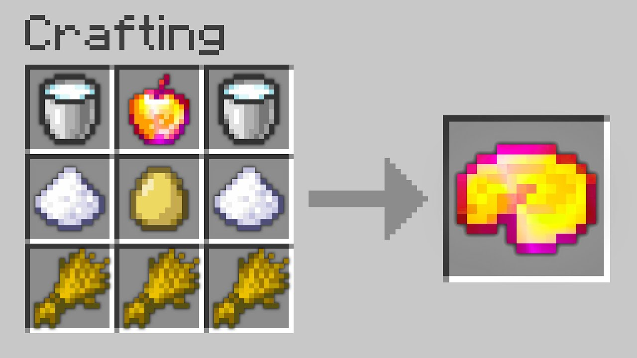 Minecraft UHC but you can craft GOD APPLE PIE...