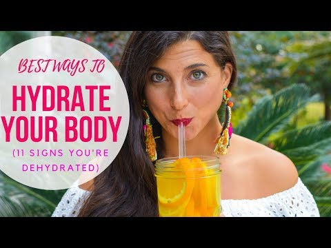 11 Signs You're Dehydrated & 6 Quick Ways to Hydrate Your Body!
