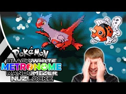 ONE HIT KO!? Pokemon Black and White Metronome Randomizer Nuzlocke #22