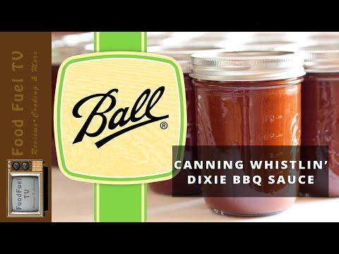 Canning Whistlin' Dixie BBQ Sauce