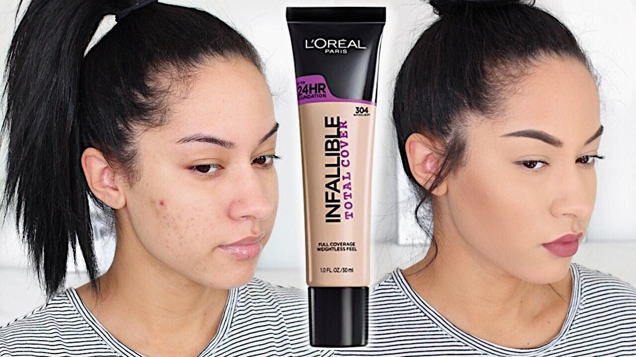 LOreal Infallible Total Cover Foundation First Impression