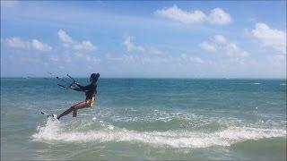 Kitehood Kiteboarding Lessons 2 - Body drag, water start, turns